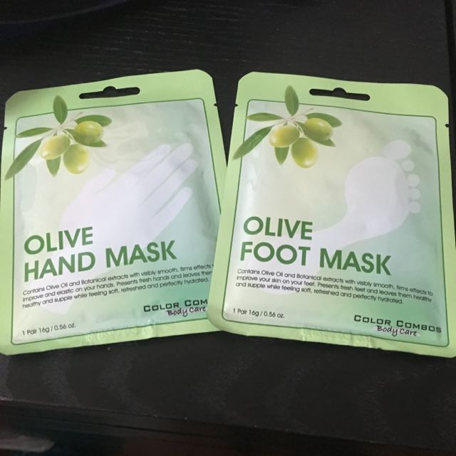 Foot/Hand Masks