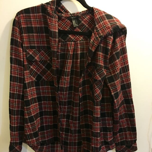 Forever XXI Plaid Sweater