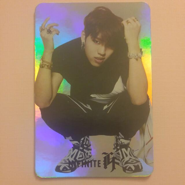INFINITE-H Dongwoo Fly Again Official Photocard