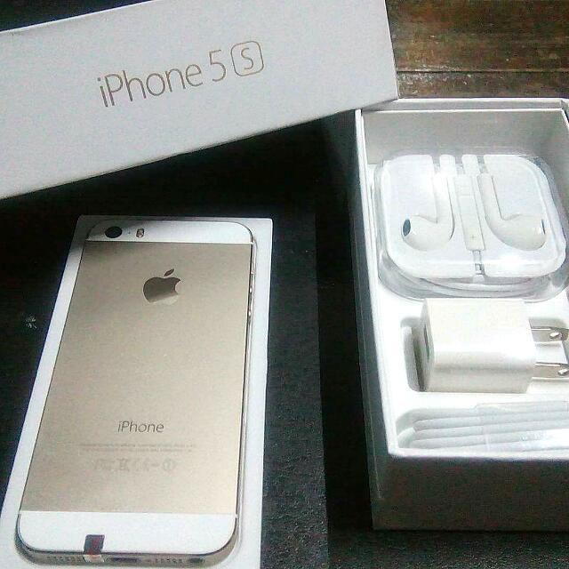 I-phone5s 16gb Gold