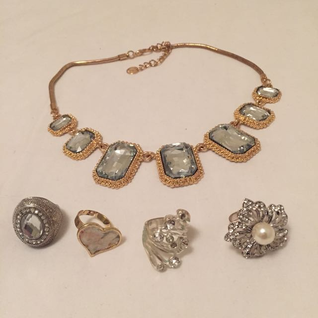 Jewellery (Necklace And Rings)