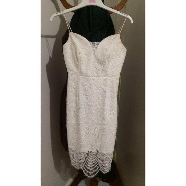 Lace Midi Formal Dress