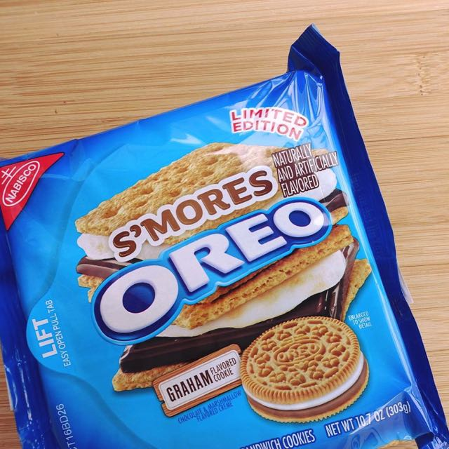 Limited Edition S'mores Oreo
