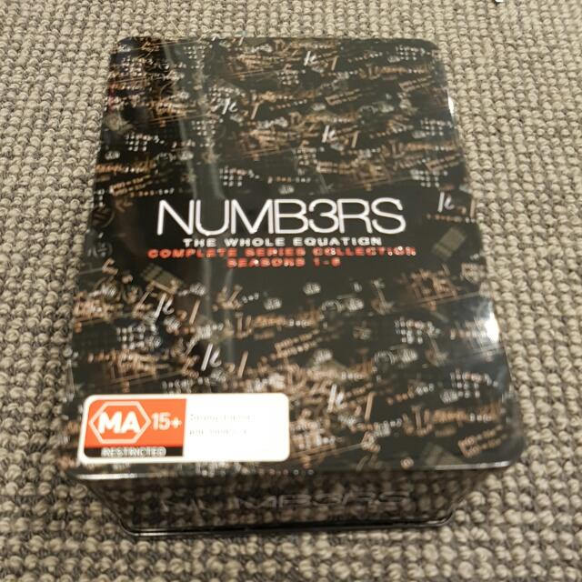 Numbers Box Set Season 1 To 6