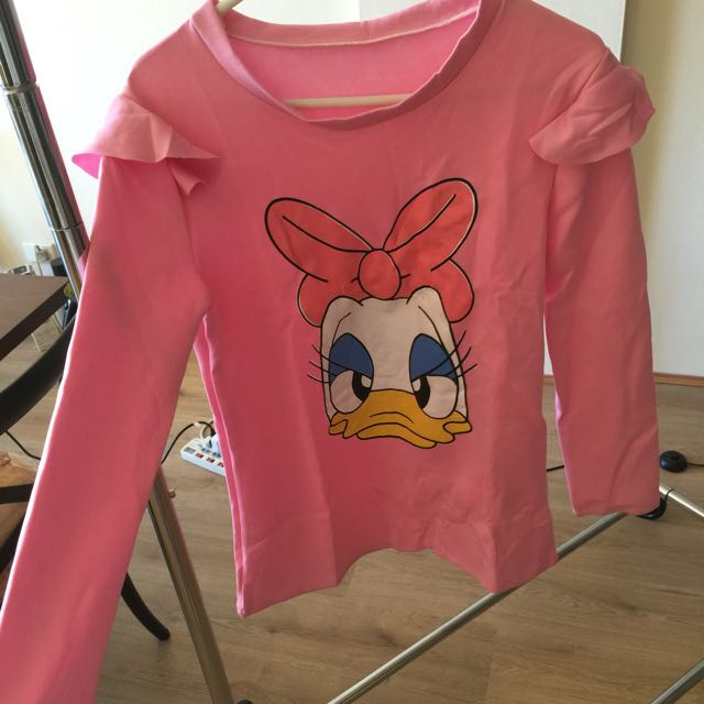 pink daisy duck top