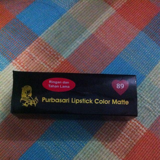 Purbasari Matte Lipstick Shade 89