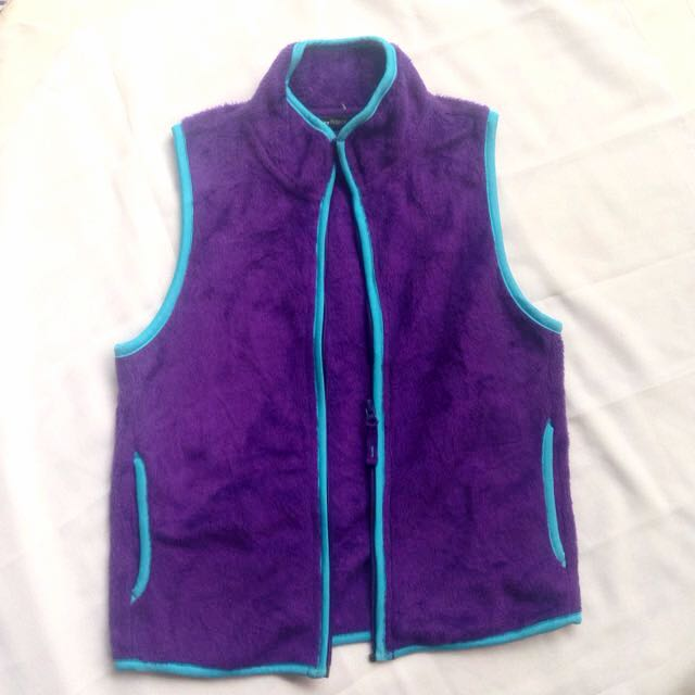 PURPLE SOFT VEST