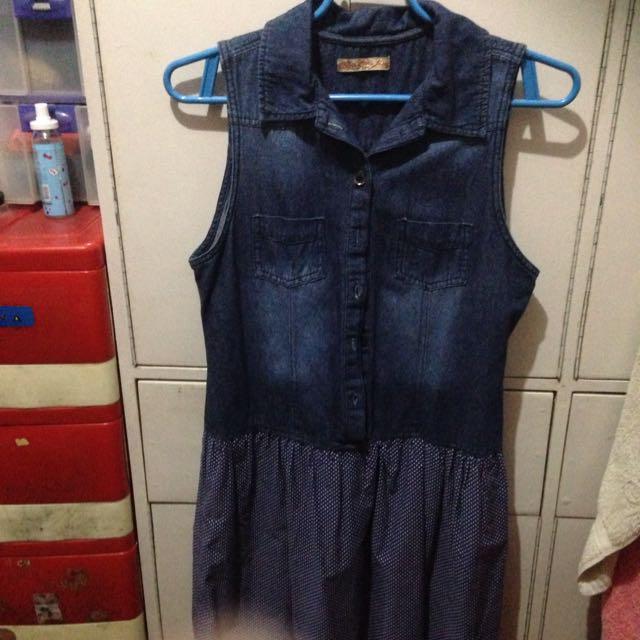 RRJ Denim Dress