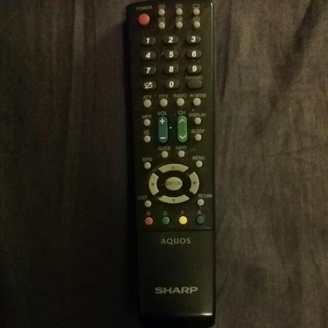 SHARP AQOUS LCD/LED Remote Contol