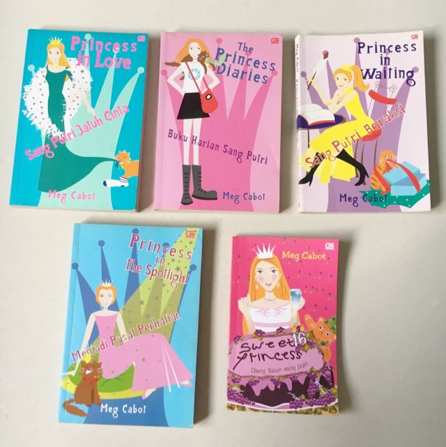 The Princess Diaries (5books)