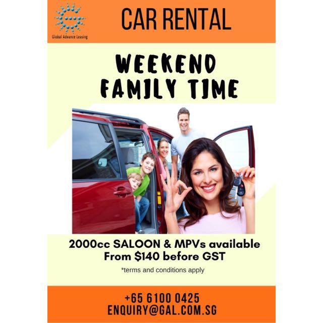 Weekend Car Rental