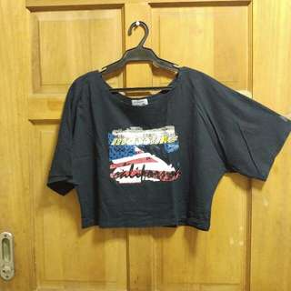 Mossimo Loose Crop Top