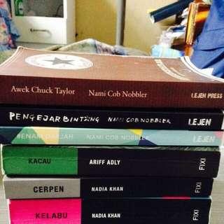 Assorted Malay Novels