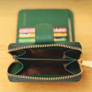 降💥Zara 皮夾 零錢包 短夾