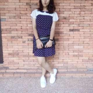 Cache Cache Blue Dress