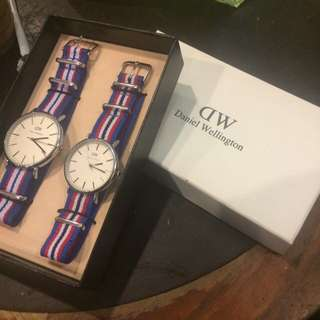 Dw Inspired Couple Watch