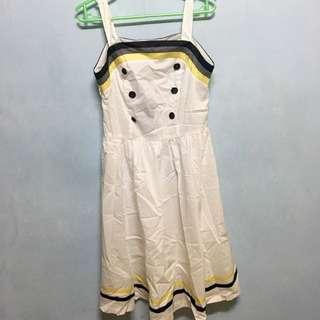 BNWT Button Dress