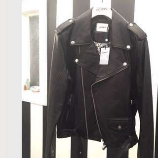 Brand New Jean Paul Gaultier for Target Mens Black Biker Jacket - Mens X Large