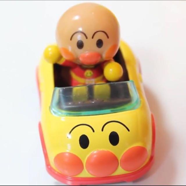 麵包超人 Anpanman 玩具車 模型車 跑車 人偶公仔車