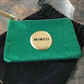 Emerald Green Small Mimco Pouch