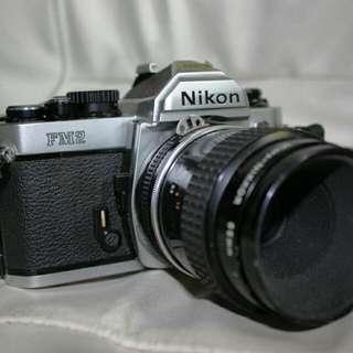 Nikon FM2 零件機