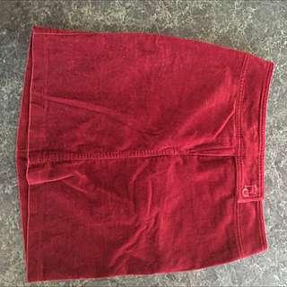 Vintage Velvet Skirt
