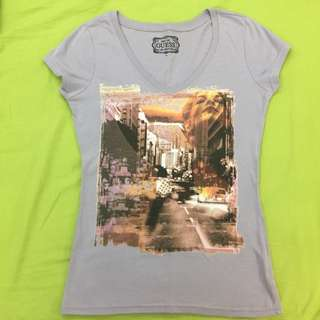 Guess V-Neck Shirt