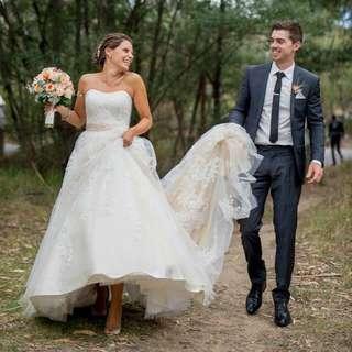 Essence Of Australia Wedding Dress - Size 8