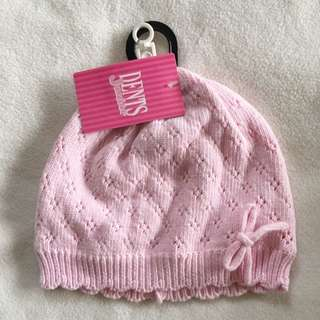 Girls Cotton Beanie With Cotton Lining