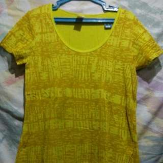 Pre-loved yellow blouse