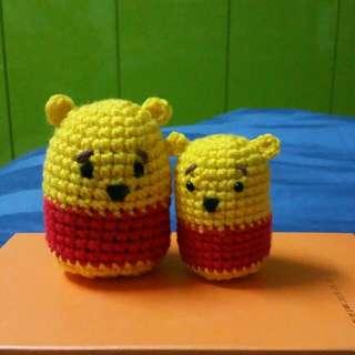 Crochet Home Made Pooh Bear