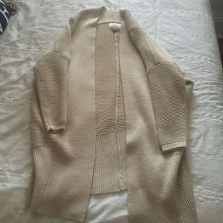 Cream Knitted Cardiagn