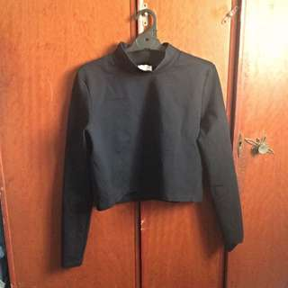 Witchery Long sleeve Crop Top