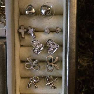 Studs Earrings 20cent Each Pair