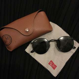 Authentic Ray-ban Round Metal (All black)