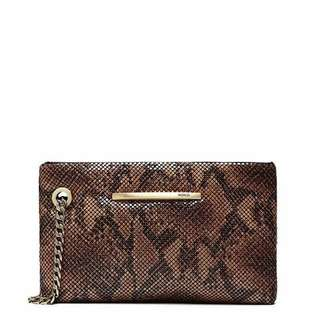 Mimco Hustle Medium Mesh Pouch