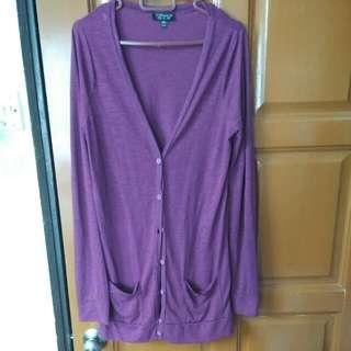Topshop UK10 Purple Jacket