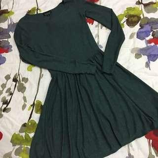 Topshop Dress (tshirt Type Material)
