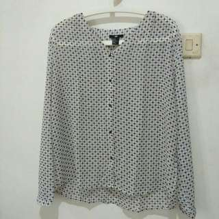Preloved H&M Sheer Shirt