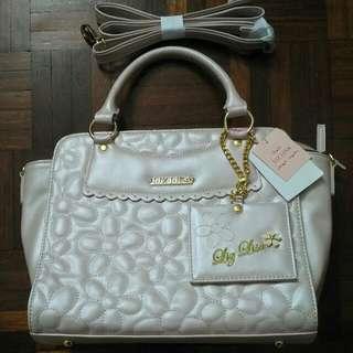Authentic New Liz Lisa Pink Bag Nwt
