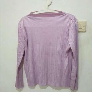Preloved Inner Plisket Shirt