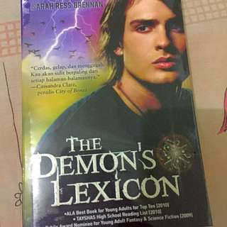 The Demon's Lexicon (Sarah Brennan)
