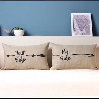 Your Side & My Side Pillows