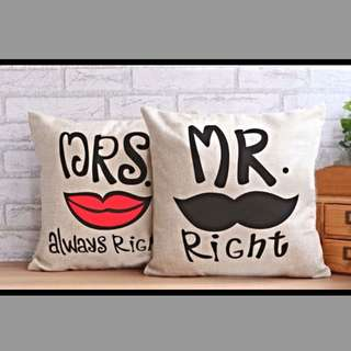 Mr & Mrs Pillows 2
