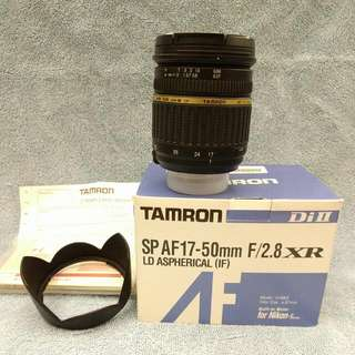 [RESERVED UNTIL 6PM MONDAY] Tamron 17-50mm f2.8 (NikonMount) SP AF XR DiII (DX)   LD Aspherical (IF)