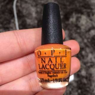 Opi Orange Nail Polish
