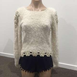 Fleece Long Sleeve Top And Short