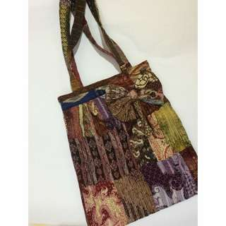 bag from indonesia (with zipper)