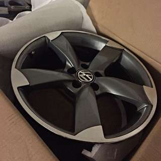 """Volkswagen Motorsports 17"""" Alloy Wheels X4"""
