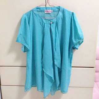 brand new top (blue)